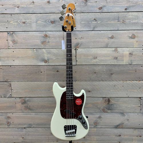 Squier Classic Vibe Mustang Bass Olympic White